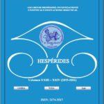 Anuario de Hespérides. XXIII-XXIV (2015-2016), Sevilla 2017.