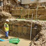 La aparición de la muralla romana resuelve el gran misterio arqueológico de Sevilla